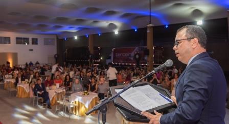Professor Crsitiano Lôbo, homenageado especial de 2019