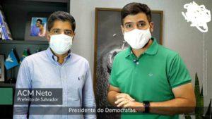 ACM Neto e Valderico Junior anunciam carreata