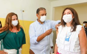 Vacinação contra Covid-19 em Ilhéus - PMI